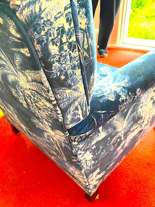 Small turn of century armchair