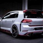 Oettinger Tcr Street Design Rear Silencer For Tcr Body Kit Fits Volkswagen Golf Gti R Mk7 5 Bk Motorsport