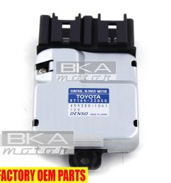 genuine toyota lexus gs430 is300 gs300 sc400 blower motor control 87165 22050 3 3 of 3 see more [ 1000 x 1000 Pixel ]