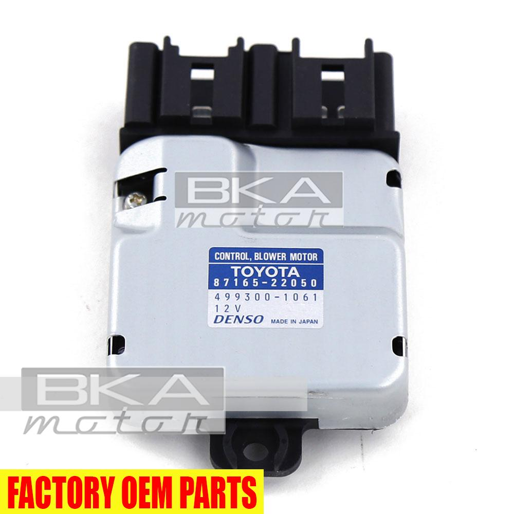 hight resolution of genuine toyota lexus gs430 is300 gs300 sc400 blower motor control 87165 22050 3 3 of 3 see more