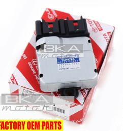 genuine toyota lexus gs430 is300 gs300 sc400 blower motor control 87165 22050 [ 1000 x 1000 Pixel ]