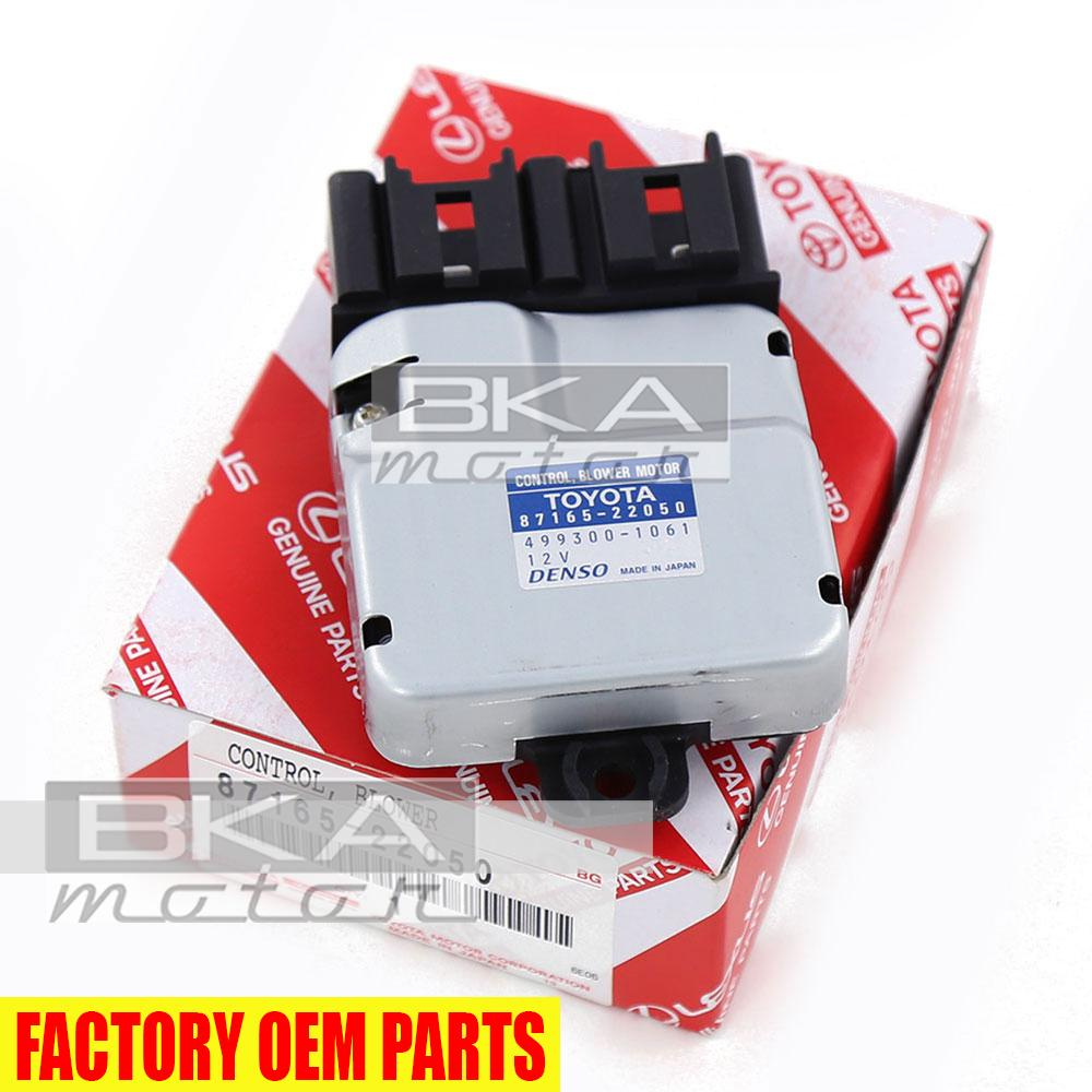 hight resolution of genuine toyota lexus gs430 is300 gs300 sc400 blower motor control 87165 22050