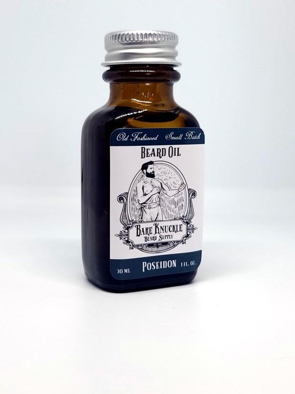 Beard Oil Poseidon - Alt Angle