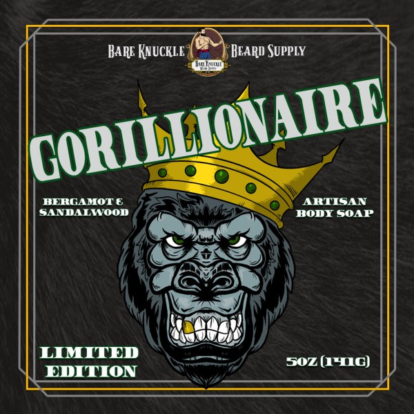 Gorillionaire Ape Nation Body Soap