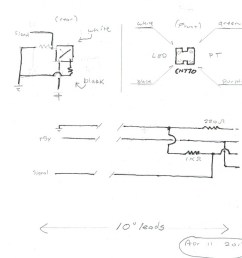 ir detector wiring quick sketch showing 10 leads to back of sensor  [ 1099 x 816 Pixel ]