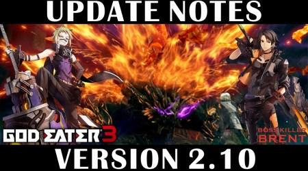 [GE3] Version Update 2.10