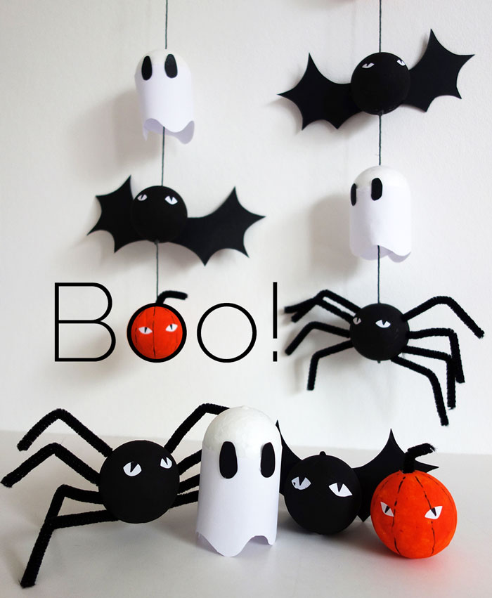 bookhoucraftprojects: Project #174: DIY Halloween decorations