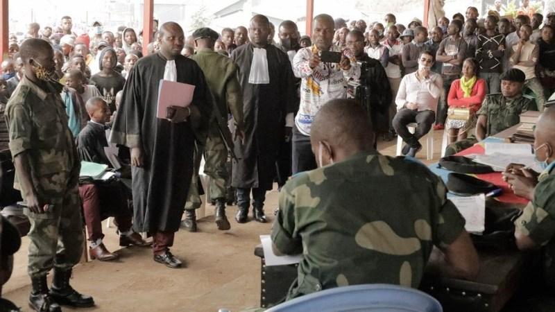 Sud-Kivu: « j'ai tiré 28 balles pour m'ouvrir la route. Les habitants mais pourchasser en me qualifiant  d'appartenir à un mouvement rebelles, malheureusement il y a eu des morts. » 1 ier témoignage du LOGO DEDONGA Claude présumé auteur d'assassinat de sangé.
