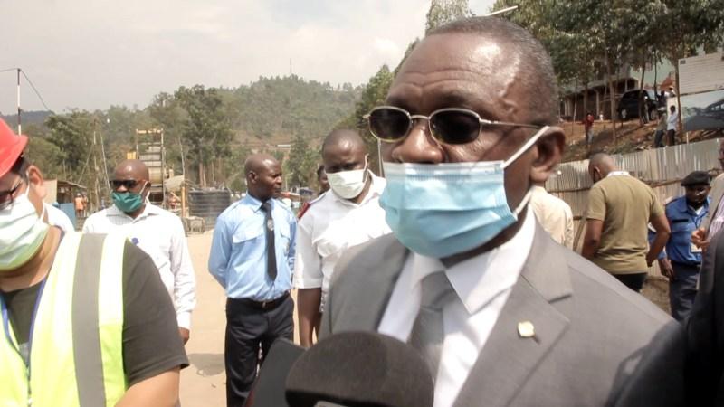 Bukavu : La DGDA satisfait de l'évolution de travaux de la construction du bâtiment PFCGL à ruzizi I