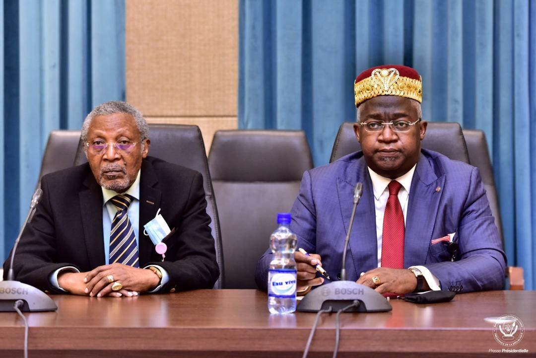 CONSULTATIONS EN RDC : Les chefs coutumiers de l'Est ont plaidé le cas de KAMERHE au près du président Felix TSHISEKEDI.