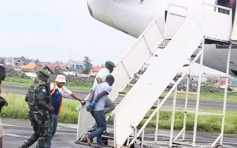 GOMA : Les présumés assassins présumés de SIMBA NGEZAYO transférés à Kinshasa.
