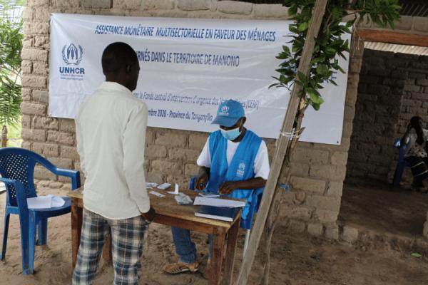 Tanganyika : , le HCR fait une assistance monétaire à 13 000 anciennement déplacées.