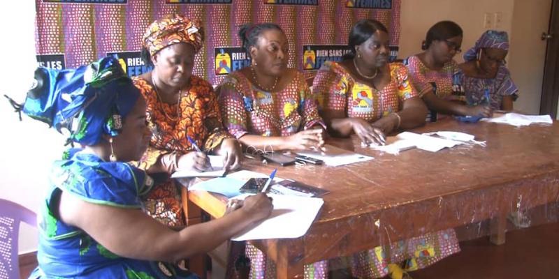 """SUD-KIVU: Le mouvement """"Rien sans les femme"""" exige l'applicabilité de l'article 14 de la constitution à la sortie du gouvernement de l'union sacrée."""