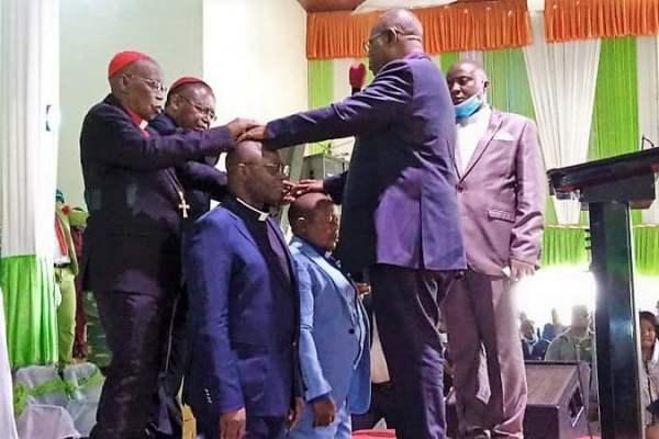 Sud-Kivu: L'Ecc pleure son ex vice-président Mgr Mundyo MWENELUSIBA père adoptif de Norbert KANTINTIMA.