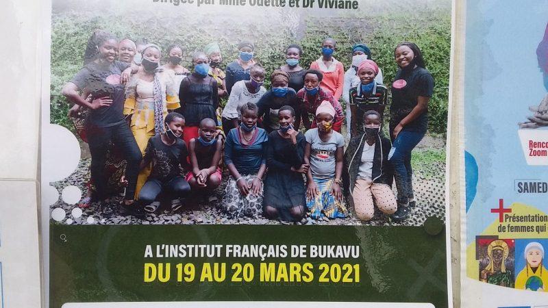 Bukavu  : 20 jeunes filles en situation difficile formées sur la propreté  des parties intimes du corps.
