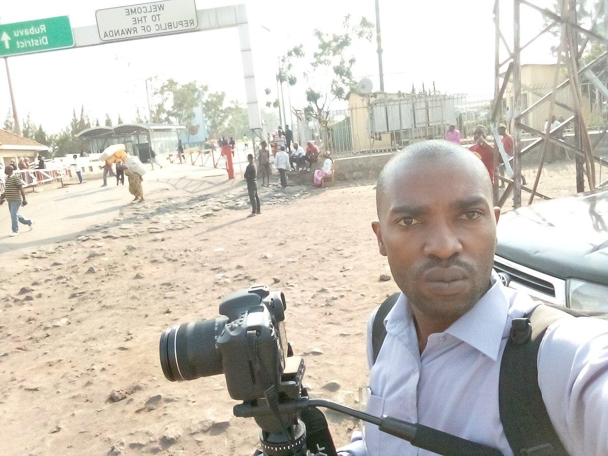 Goma :  La police a exigé au journaliste Daniel MICHOMBERO de supprimer toutes les images d'un mouvement citoyen.
