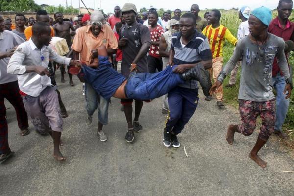 Bukavu: Un autre présumé voleur lynché  sur avenue Pesage 2.