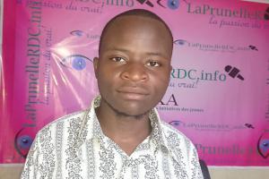 Presse : Le journaliste Museza CIKURU de la prunellerdc, lauréat du Concours Média Sud-Kivu du CICR.