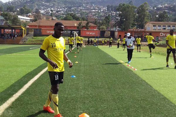 Football à Bukavu :  DOTAL  AGITI,  Ce dorsal 10 mordant du Fc Ibanda sport.
