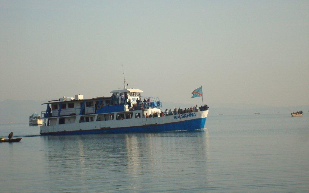 Bukavu  : La Taxe RVF exigée aux bateaux avant navigation sur le lac-kivu
