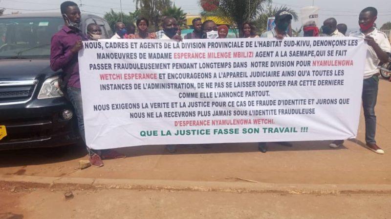Sud-Kivu : Arrestation de l'ancienne cheffe de division de l'habitat Espérance WECHI pour spoliation des immeubles de l'État