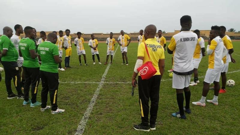 Barrage pour entrer en ligue II Zone EST : Fc IBANDA SPORT joue ce samedi son premier match à kindu