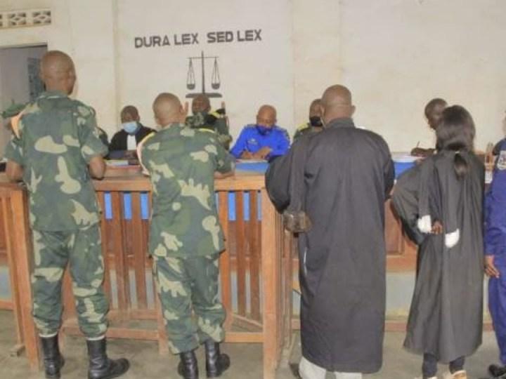 RDC :  4 colonels radiés des FARDC  et 1 dans la police.