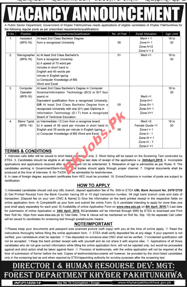 200 trafton road springfield, ma 01108 phone: Forest Department Kpk Jobs For Assistant Computer Operator Others Latest Advertisement Bk Jobs