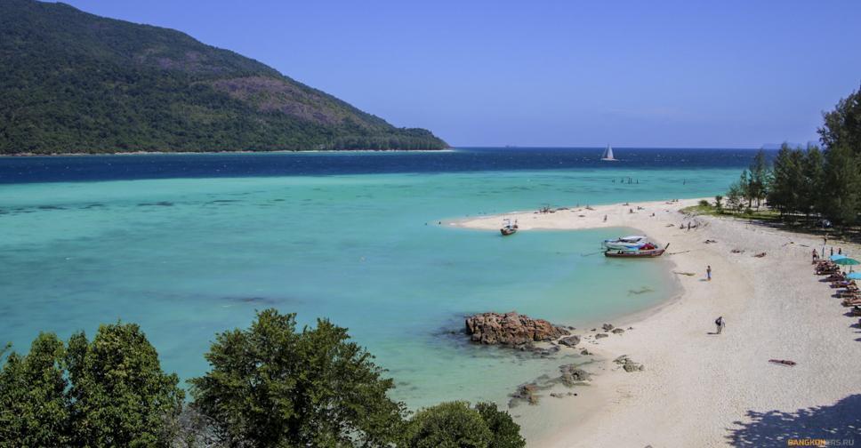 Фирменный вид на острове Ко Липе