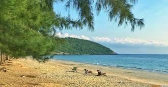 Nang Ram Beach Пляж танцующей девушки