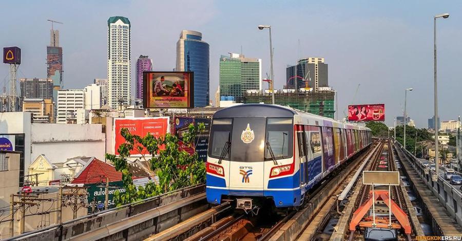 Воздушное метро в Бангкоке