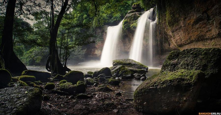 Водопад Haew Suwat — одно из мест где снимали «Пляж»