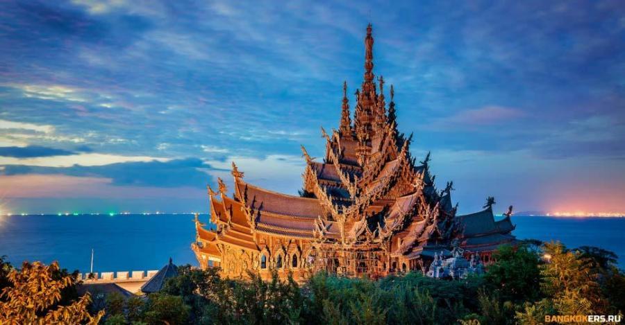 Храм Истины — деревянный храм в Паттайе.