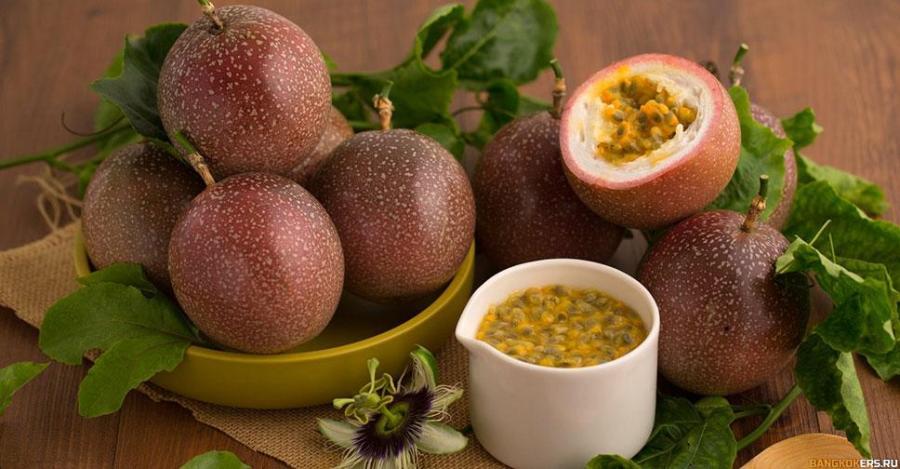 Маракуйя — passion fruit