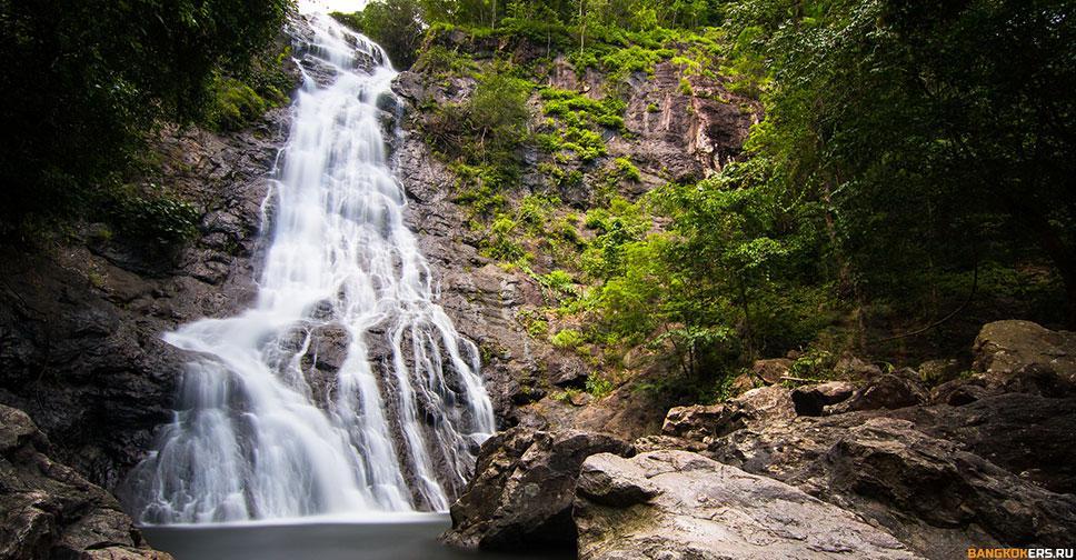 Водопад Сарика — пристанище усталого путника