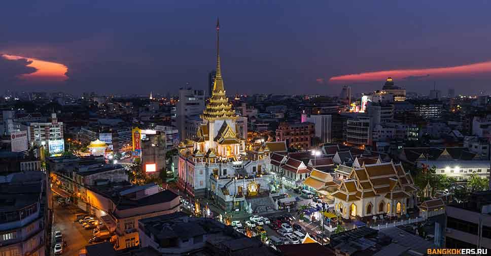 Храм золотого Будды Wat Traimit