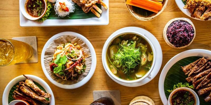 【2020米其林曼谷小吃】得宋丹 Somtum Der,紅到國外的東北料理小酒館,銅板價帶你吃遍曼谷美食