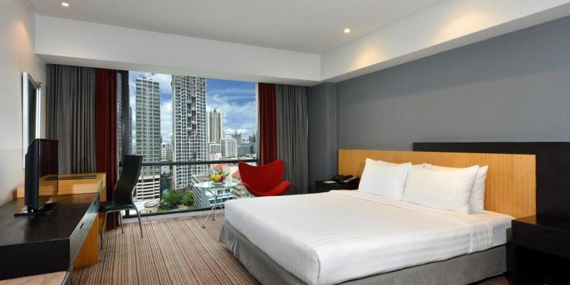 【ASQ入境泰國隔離住宿】BelAire Bangkok Sukhumvit Hotel 四星級飯店 :15 天 14 夜隔離住宿套餐