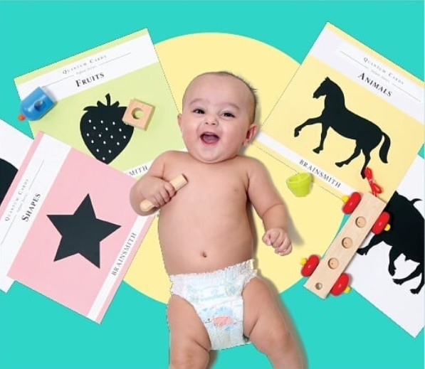 Quantum Cards for infants