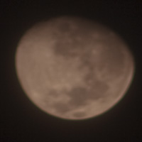 Moon Out of Focus