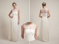 Architectural wedding dress from Saja - Brooklyn Bride ...