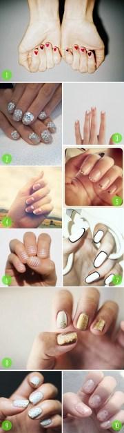 nail art - brooklyn bride