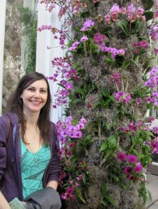Hanging out with Dendrobiums at the Orchid Show 2012
