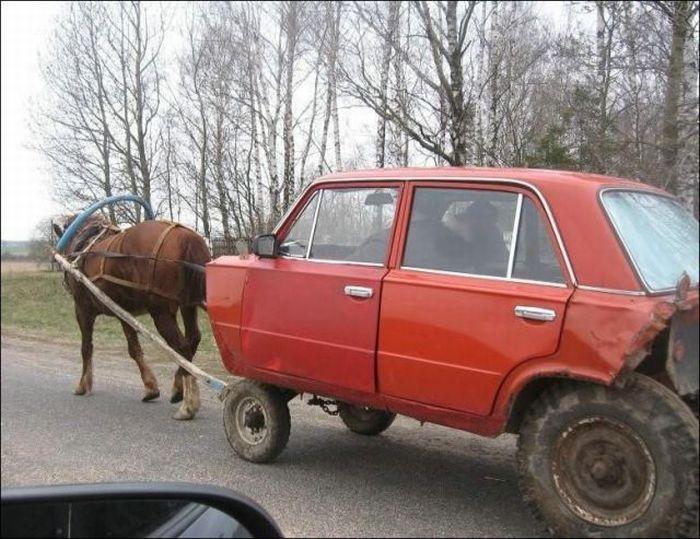 Смешное авто