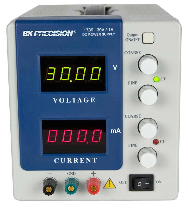 High Current Variable Power Supply