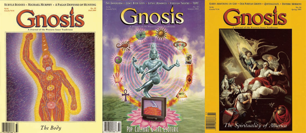 Gnosis magazine covers.