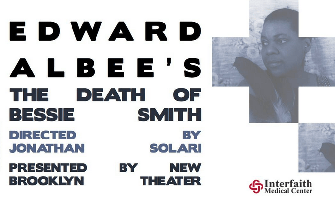 """Edward Albee's """"The Death of Bessie Smith"""" opens today, January 9 and will run through January 19, at Interfaith Medical Center"""