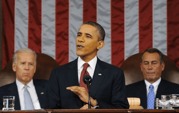 President Barack Obama delivers his fifth State of the Union Address, 1/28/14