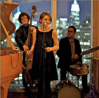 Sara King's band plays every Wednesday at Chez Ozkar in Fort Greene.