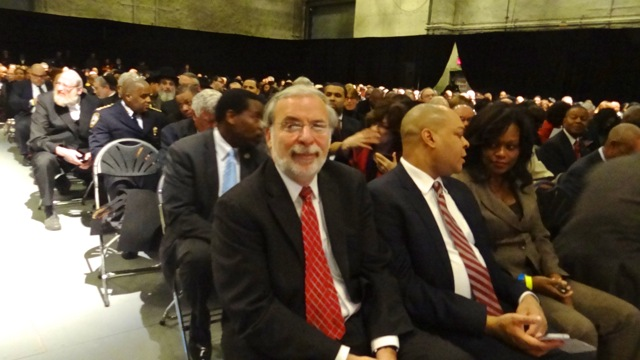 Rabbi Dov Hikind at the Inaugural Ceremony of Kings County D.A. Ken Thompson